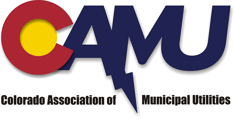 Colorado Association of Municipal Utilities logo