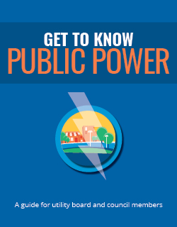 Get to Know Public Power book cover