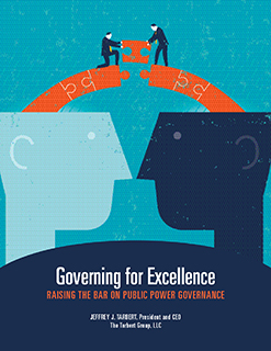 Book cover governing for excellence