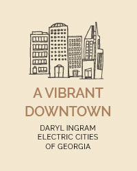 A vibrant downtown, Daryl Ingram