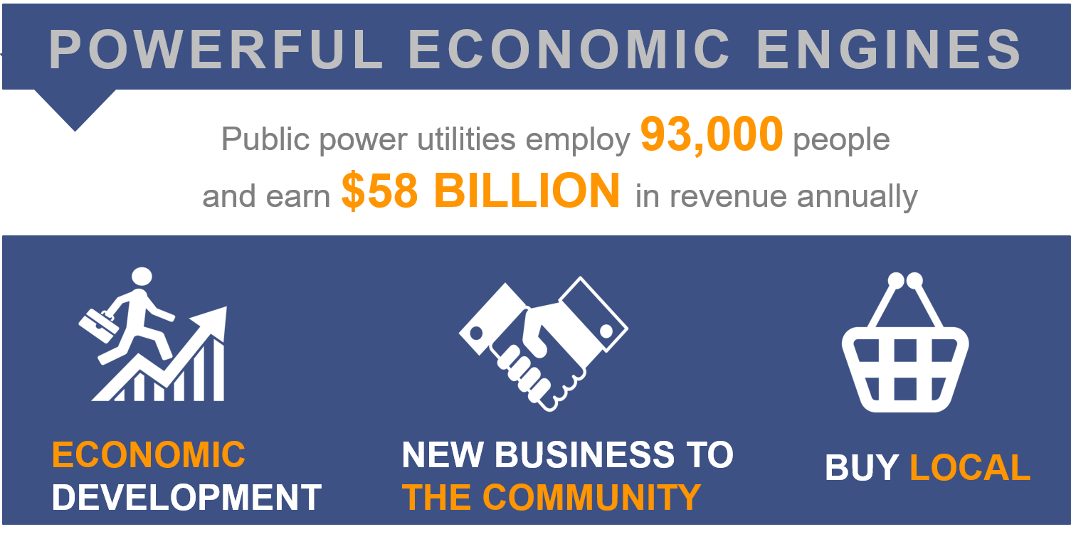 Public power employs 93,000 people and earns $58 billion annually