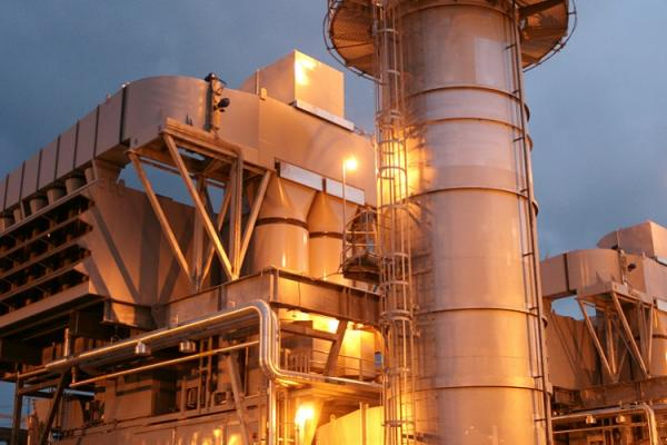 Power plant near Lafayette, Louisiana. Photo courtesy Lafayette Utility Systems