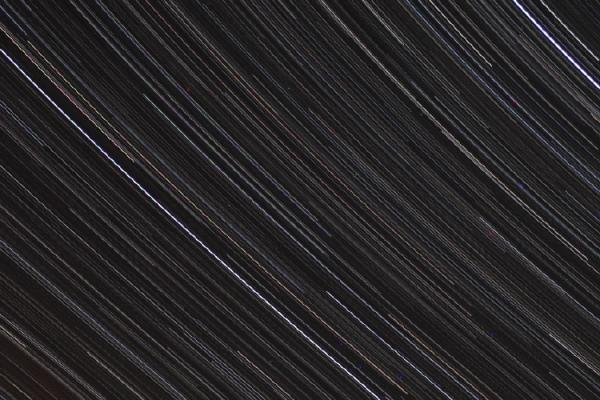 time lapse of blurred stars in a night sky