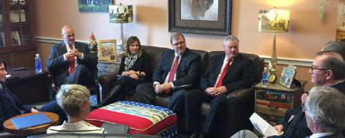 Heartland Consumers Power District meets with Rep Kristi Noem