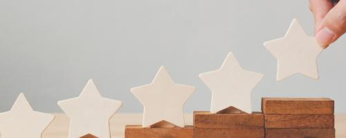 photo of wooden stars