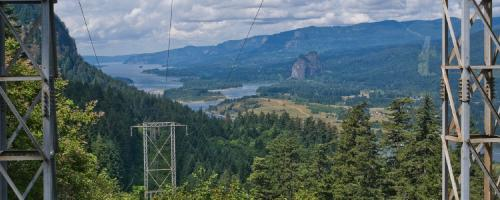 transmission towers, Bonneville Power Administration